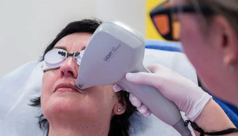 LightSheer Diode Laser - behandeling